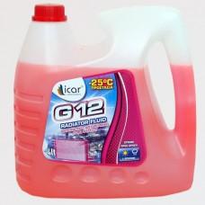 Αντιψυκτικό Υγρό Ψυγείου 4L G12 Icar