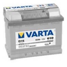 Varta Silver Dynamic D15 12V 63AH-610EN