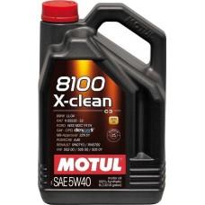Motul 8100 X-clean C3 5W-40 5lt